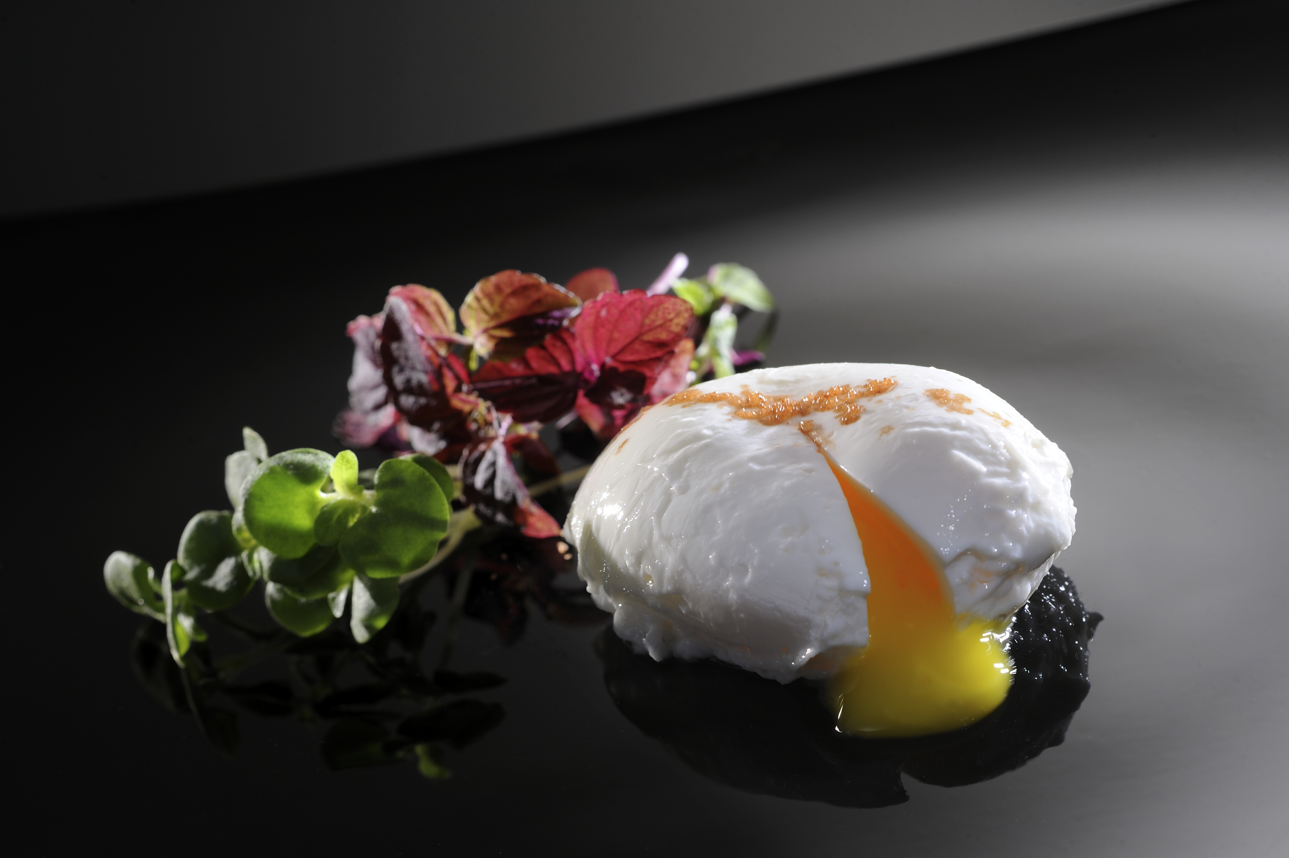 Eric Heurtel - Truffled poached egg