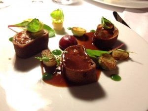 perdreau farci foie gras