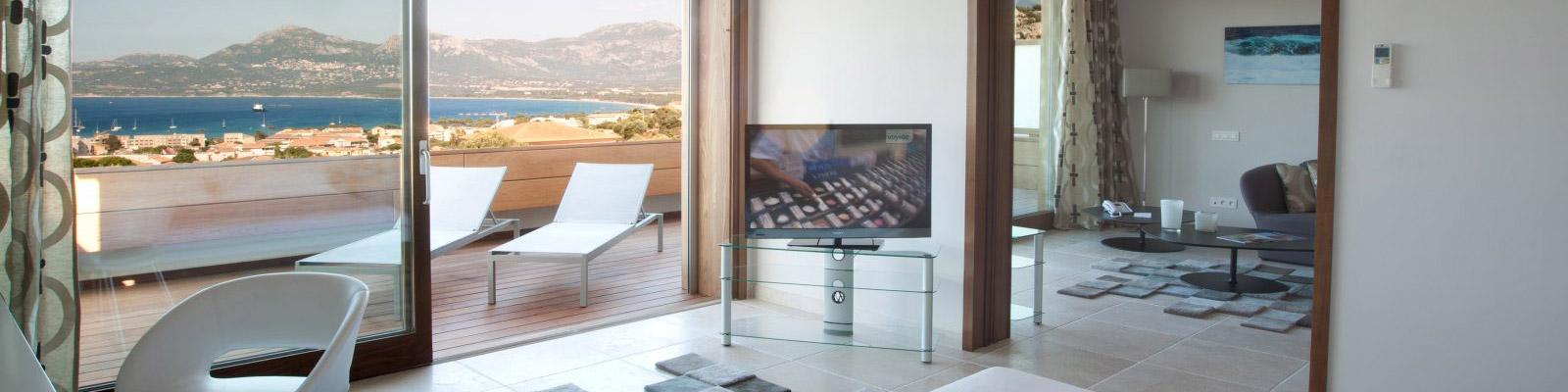 suite villa calvi