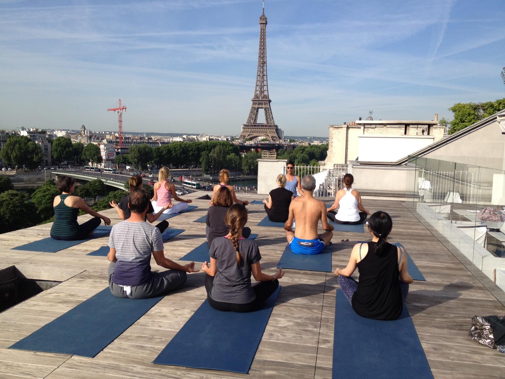 Yoga Tour 2015