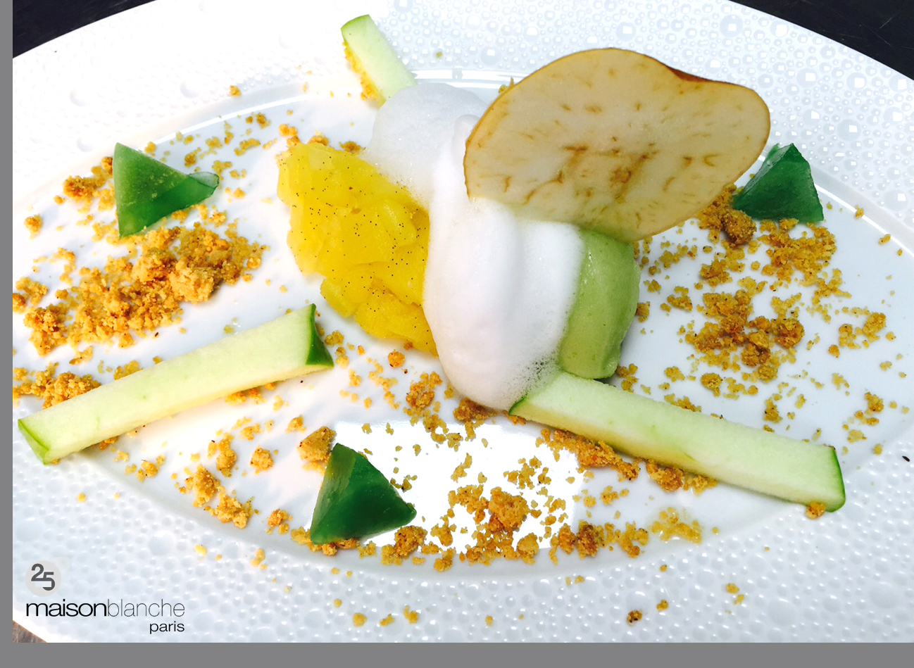 dessert cop 21 maison blanche
