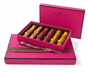 Coffrets truffes parfumées La Maison du Chocolat ©Laurent Rouvrais.