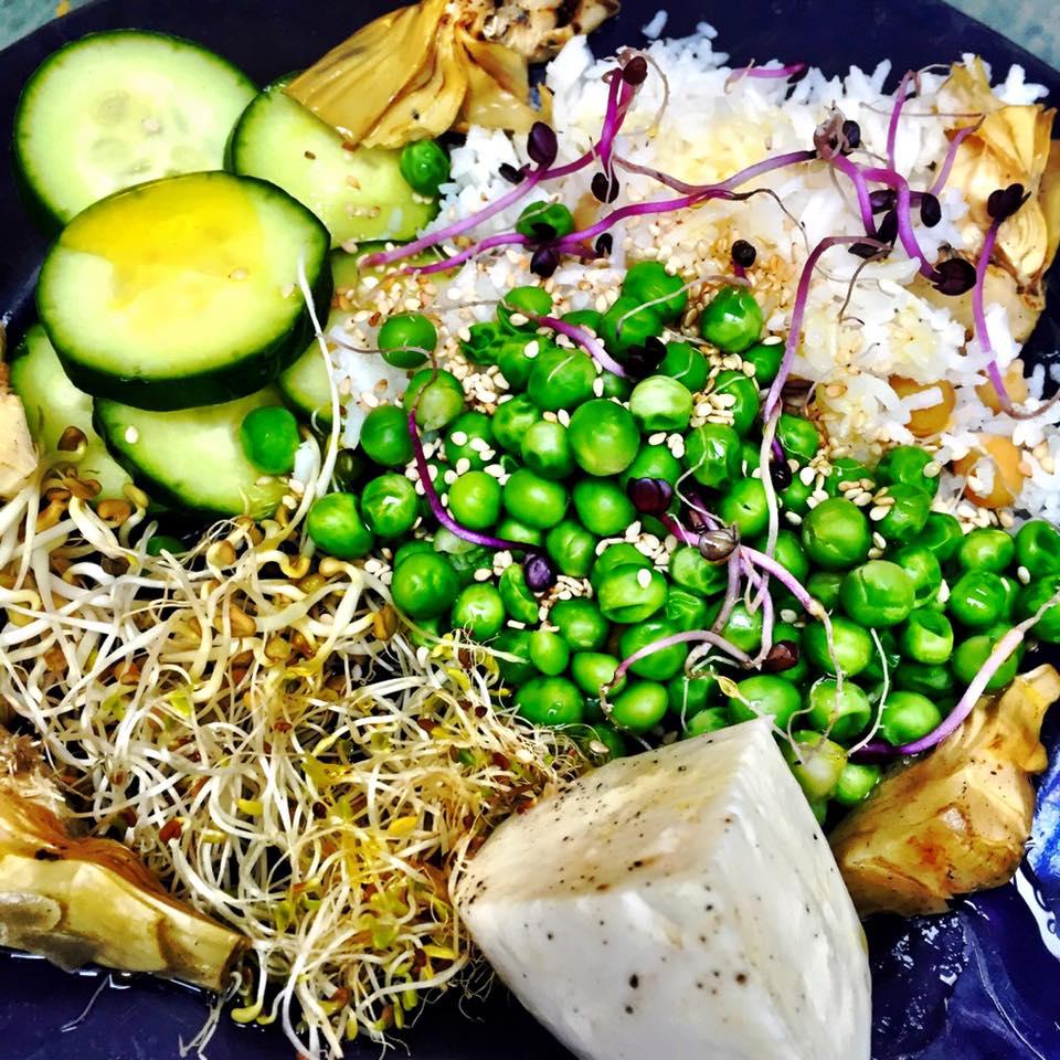salade végétarienne erwann mentheour