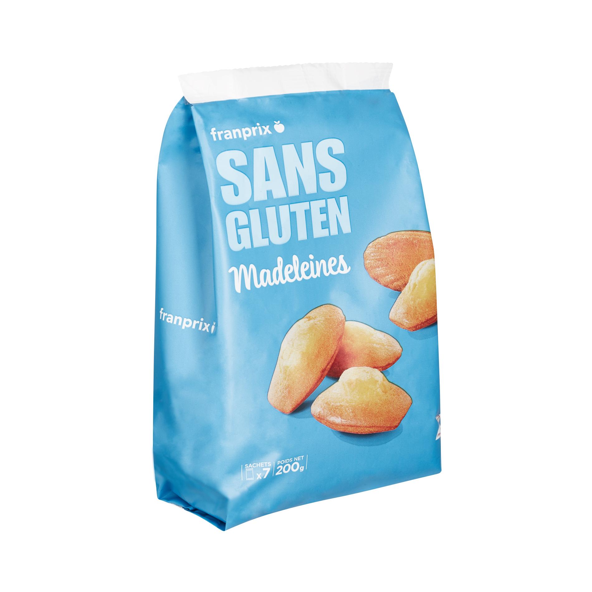 Madeleines sans gluten