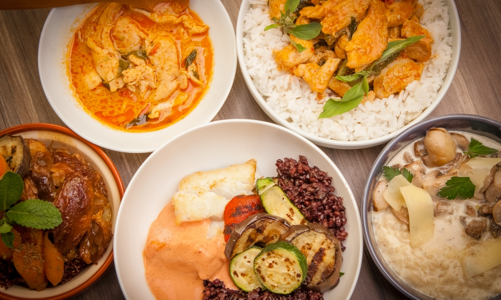 Rice Trotters menu ruz
