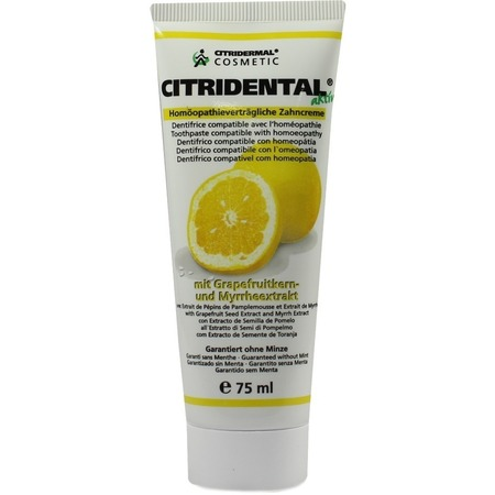 Dentifrice citrobiotic