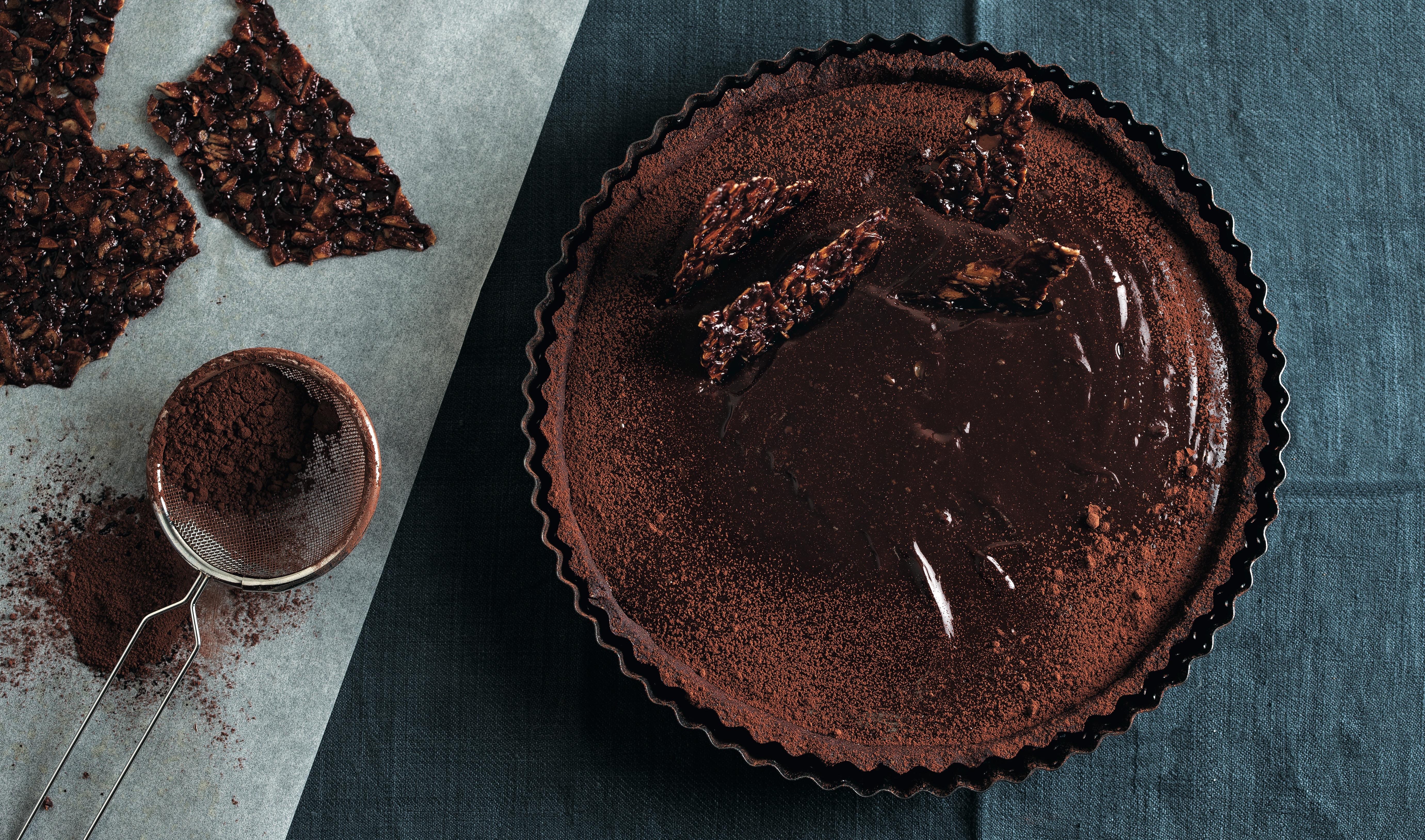 Tarte chocolat Nicolas Champaud