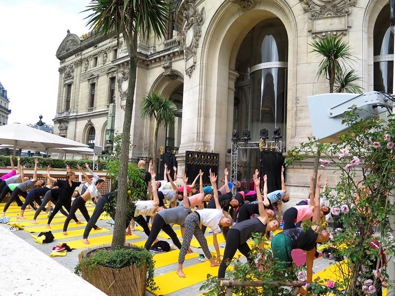 Yoga à l Opéra