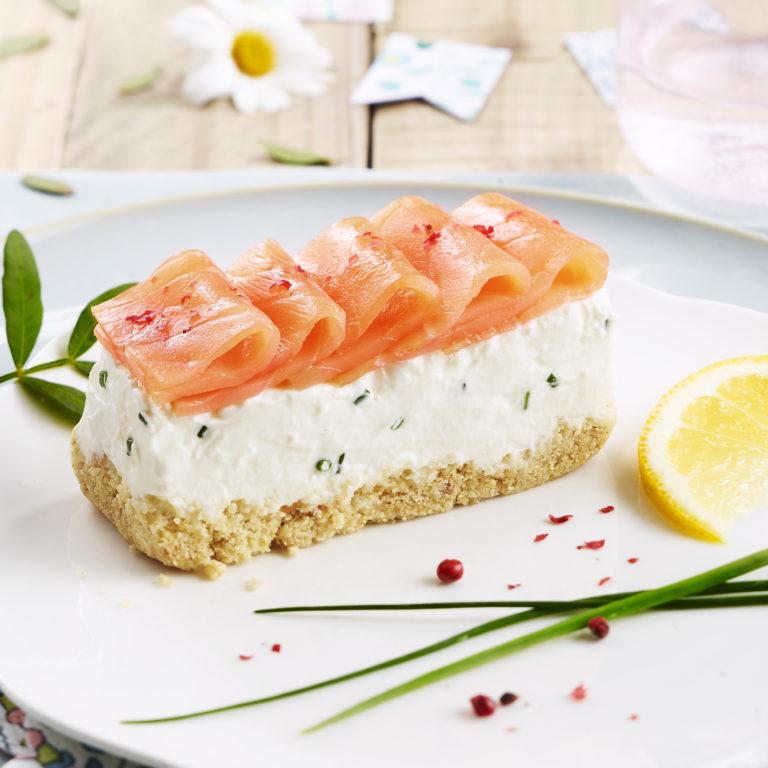 saumon cheesecake