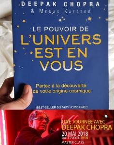 Deepak Chopra livre Univers