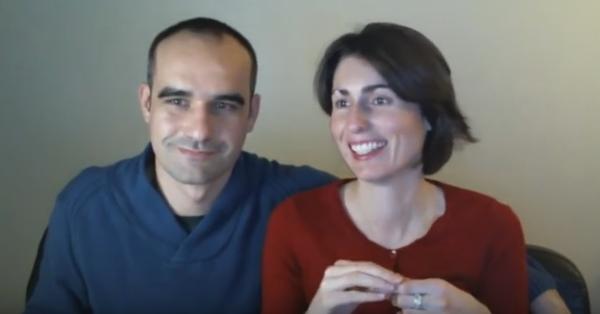 Peggy et Jeff méditation